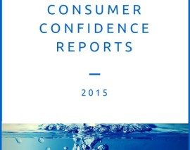 2015 Consumer Confidence Reports