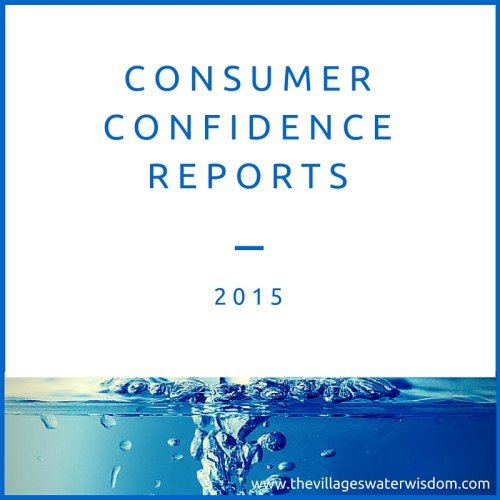 Consumer Confidence Reports
